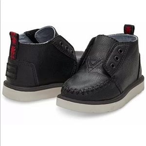 Toms Baby/Toddlers Chukka Boots Black Size 7 NEW